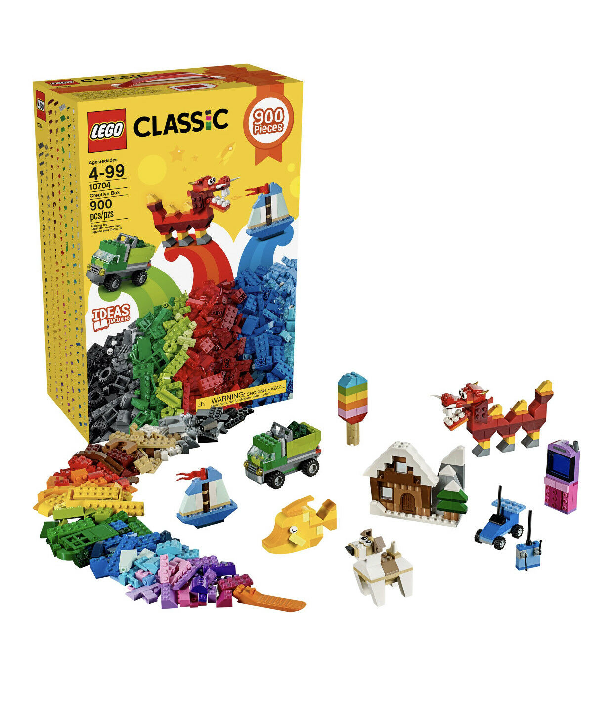 LEGO Classic Creative Building Box Set 900 Pieces (10704) Brand New & Sealed