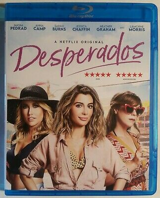 Desperados Blu Ray New No Dvd Netflix Film Nasim Pedrad Anna Camp Heather Graham Ebay