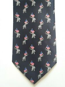 REPUBLICAN LADIES BEIGE SCARF WITH  LITTLE ELEPHANTS ALL OVER DESIGN