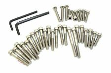 Stainless Steel 32 Allen Bolt Set • Honda CB360 360 Twin ✺ Engine Side Covers ✺