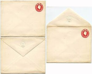 photo regarding Embossed Stationery titled Information and facts relating to GB KE7 Residence of COMMONS POSTAL STATIONERY ENVELOPE EMBOSSED FLAP 1d