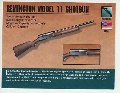 History auto shotgun remington semi Gangster Gun: