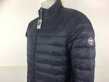PUFFA Puffer NO HOOD men's boss ultra light bubble down jacket L 42/44 blue new