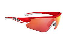 Occhiali SALICE Mod.005 RW BICOLORE Bianco-Arancio Lens Rainbow Red//GLASSES SALI