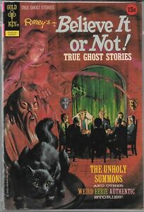 Details about RIPLEY'S BELIEVE IT OR NOT TRUE GHOST STORIES #34 (FN) BRONZE  AGE HORROR
