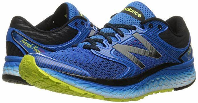 New Para Hombre Zapato de correr M1080v7 Balance, azul eléctrico Hi Lite, tamaño 7D, nuevo