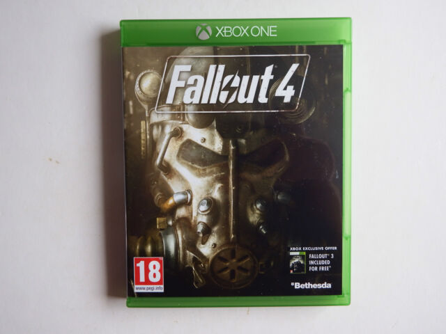 Fallout 4 on Xbox ONE in NEAR MINT Condition
