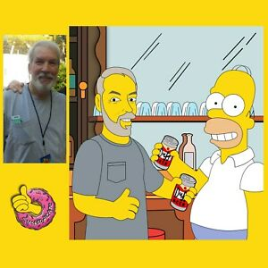 Personalized simpsons portrait, custom Simpson portrait, Simpson My Picture