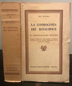 Cosmogonia dei Rosacroce - Max Heindel - Libri