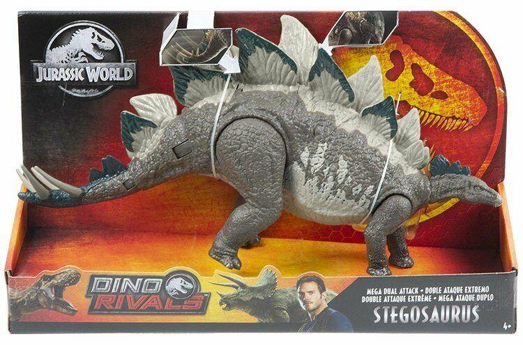 JURASSIC WORLD  Dino rivali MEGA DUAL ATTACCO Stegosauro NUOVO  in vendita online