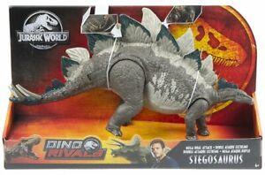 Jurassic World Dino Rivals Mega Dual Attack Stegosaurus Nouveau