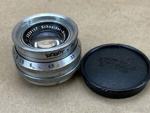 Schneider-40mm-f-1-9-Xenon-Vintage-Lens-For-Robot-Cameras-Nice