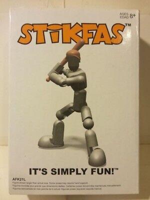 Original Stikfas Regular Pack Alpha Male AFK24R Legionnaire Romans Action Figure