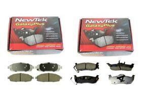 FRONT-amp-REAR-NEWTEK-CERAMIC-BRAKE-PADS-JEEP-COMMANDER-XK-06-11