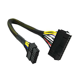 1-Ft-ATX-14-pin-to-24-pin-PSU-Power-Supply-Adapter-Cable-For-Lenovo-amp-more