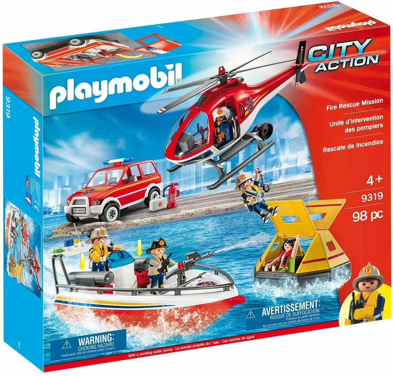 Playmobil City Action 9319 Set Rettung von Wildfire Rescue Mission B-ware