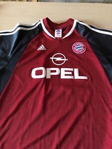 Details zu FC Bayern München altes Trikot Saison 200102 OPEL Nr.19 Carsten Janker Gr.176