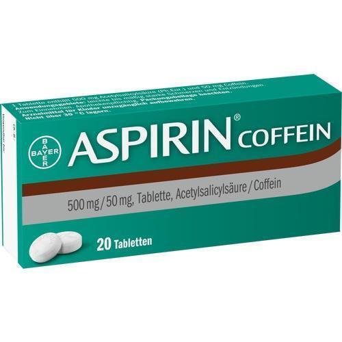 Aspirin Coffein Tabletten 20st PZN 05461711 günstig kaufen