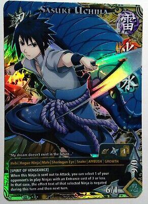 Carte Naruto Collectible Card Game CCG Foil  Fancard #130 Set TP5 Rin