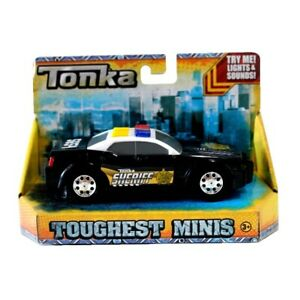 NEW-TONKA-TRUCK-BUILT-TO-LAST-TOUGHEST-MINIS-TOY-SHERIFF-039-S-VEHICLE-51296