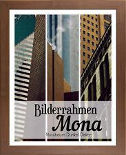 Mona 46 x 66,5 cm Bilderrahmen Homedeco 24 Holzwerkstoff Wahl Farbe Verglasung