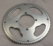 80 Tooth Rear Sprocket #25, 4-bolt for electric scooter that uses freewheel