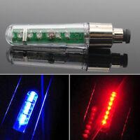 7 LED Bike Cycling Motorcycle Wheel Valve Stem Tire Motion Neon Light Lamp New