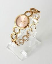 Esprit Damen Uhr Arya Edelstahl gold rosa rosé ES108212004