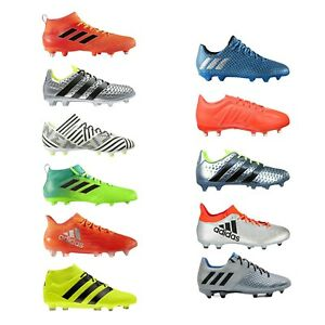 Adidas-Homme-Garcon-Enfants-Chaussures-De-Football-Formation-Sportive-nemeziz-Messi-Ace-GLORO-X