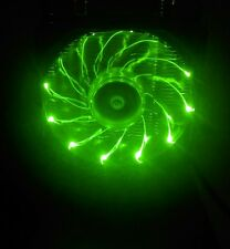 Needcool Ice Tower 200 Green LED 92mm Fan & Heatsink w Dual Heatpipes CPU Cooler