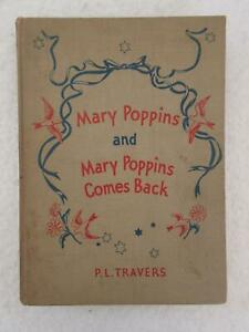 P-L-Travers-MARY-POPPINS-AND-MARY-POPPINS-COMES-BACK-Reynal-amp-Hitchcock-1937