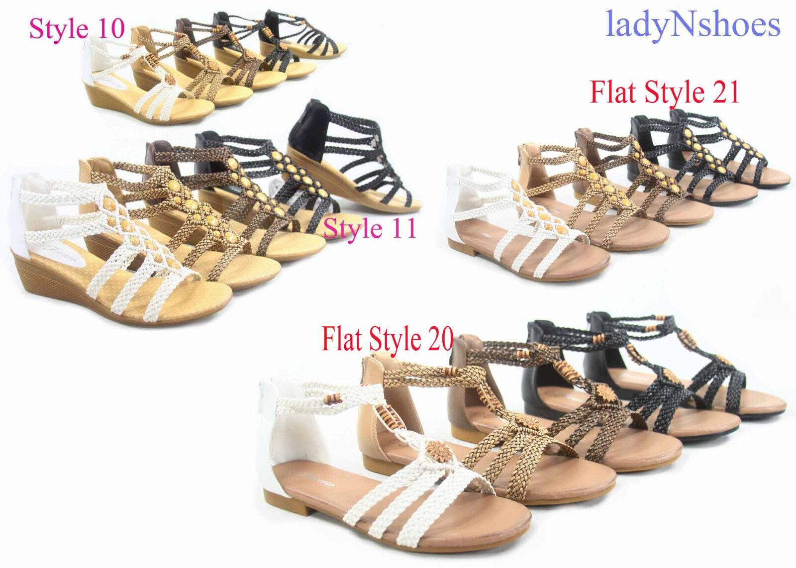 Nina Kaileen Sandal - Women's Size 8 M, Gold