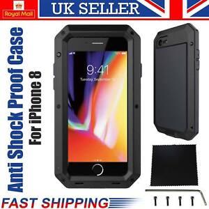 iPhone-8-Heavy-Duty-Case-Armor-Shockproof-Tough-Hybrid-Metal-Anti-WaterProof-UK