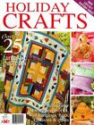 HOLIDAY CRAFTS TO MAKE NO 2. MAGAZINE 2010. PATTERN SHEETS ATTACHED.