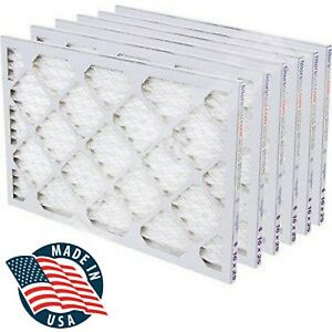 "Filters Fast 2"" HVAC MERV 8 Air and Furnace Filters 6-PACK *Made in the USA*"