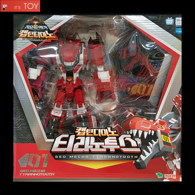 Geo Mecha captaindino tyrannotooth 01 Tyranno Dinosaure  transformateur Robot 2017  acheter en ligne