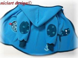 """Pratique Niciart ♥ Softshell Veste ♥ 50 à 140! ♥ Softshelljacke ♥ Transition Veste Turquoise Requin-jacke ♥Übergangsjacke Türkis Hai"""" afficher Le Titre D'origine"""