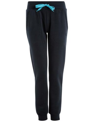 Damen Jogginghose in navy//türkis