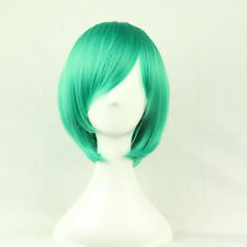 Green Bob Women's Cosplay Wig  Party Wig Short Straight Wigs Full Hair Wigs