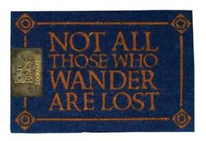 Lord Of The Rings Not All Those Who Wander 60 X 40cm