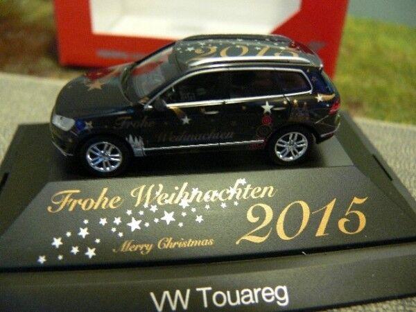 1 87 Herpa VW Touareg Frohe Weihnachten 2015 101950