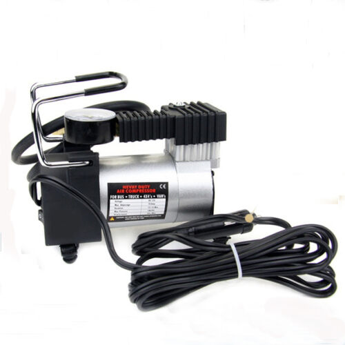 Selling 12V Mini Pump Heavy Duty Air Compressor Tire Inflator Gauge Efficient
