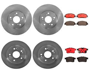 Brembo Brake Kit >> Details About Front Rear Brembo Brake Kit Disc Rotors Ceramic Pads For Honda Accord Sport Ex