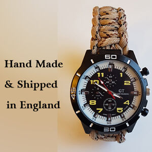 Paracord-Watch-with-Desert-Rats-DR-Colours-a-Great-Gift