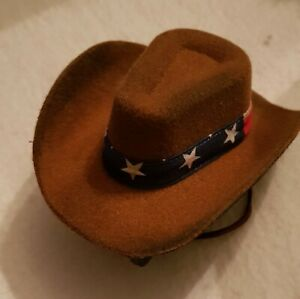 A-Dream-Cowboy-Hat-IN-Shabby-Style-For-Approx-9-13-16-11-13-16in-Bears