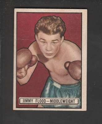 1951 Topps Ringside #25 Bob Baker Boxing Card