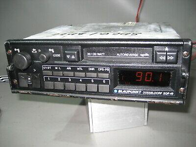 Amichevole Mc Autoradio Blaupunkt Düsseldorf Sqr 49 Cassetta Ar (2298)-mostra Il Titolo Originale Valore Eccezionale