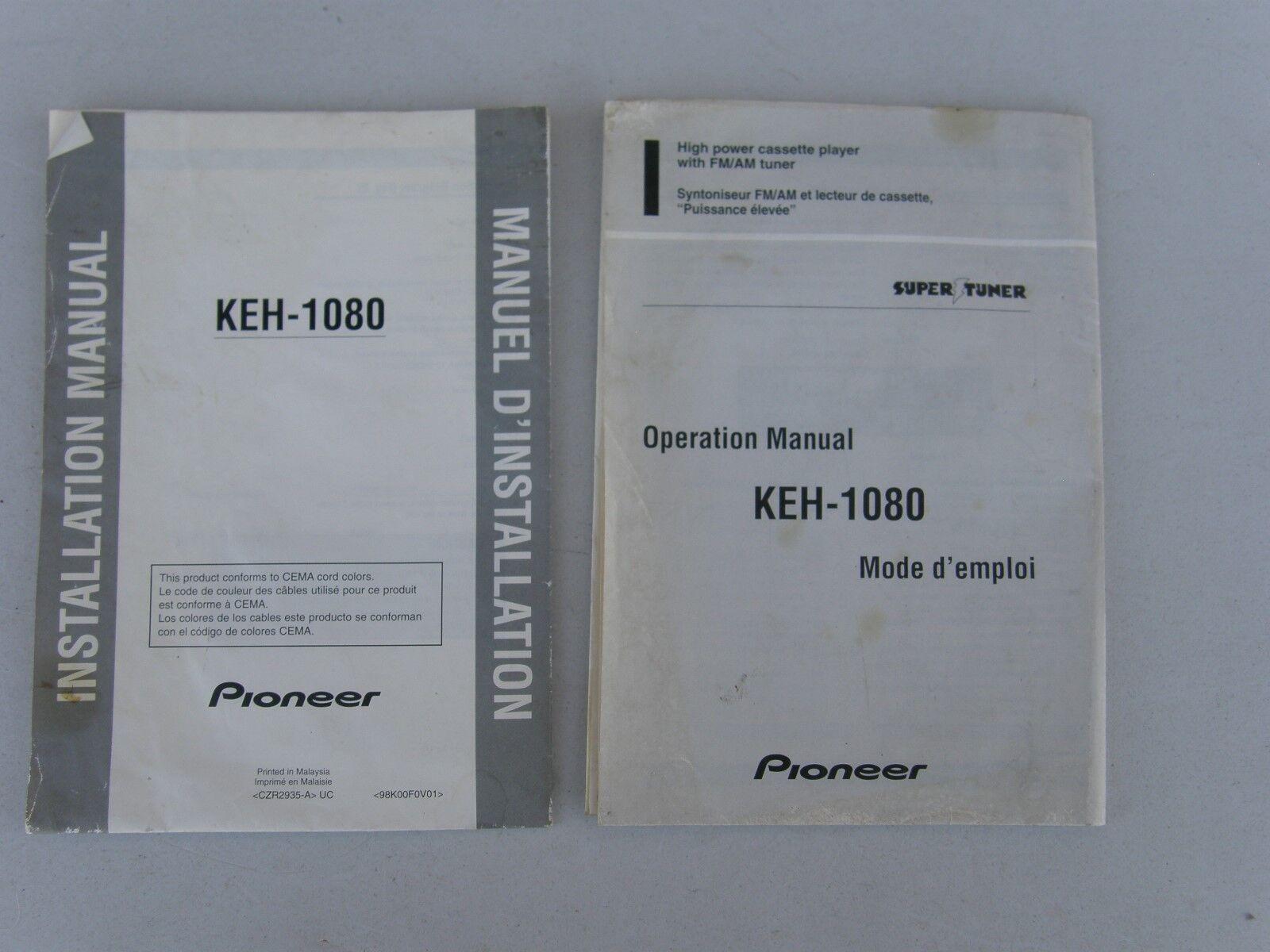 Pioneer Keh 1080 Cassette Player In Dash Receiver Ebay Super Tuner D Wiring Diagram Addition 3 Stock Photo