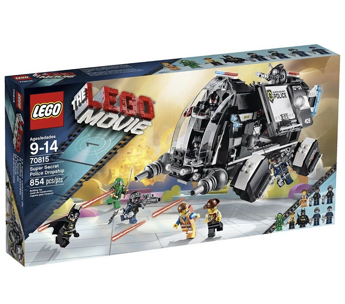 New In Box The LEGO Movie Super Secret Police Dropship (70815) Factory Meerled