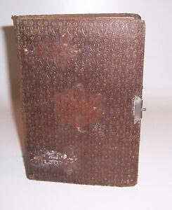 Altes handgeschriebenes Gedichte Poesie Buch um 1900 !